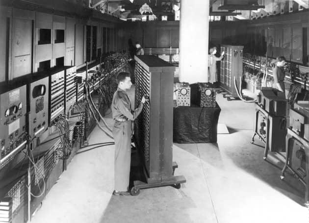 1st generation ENIAC computer