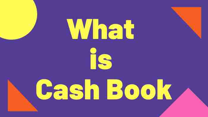 What is Cash Book