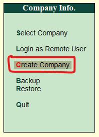 Company Info.