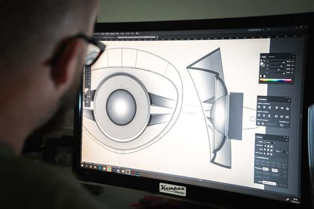 OLED Monitor Image